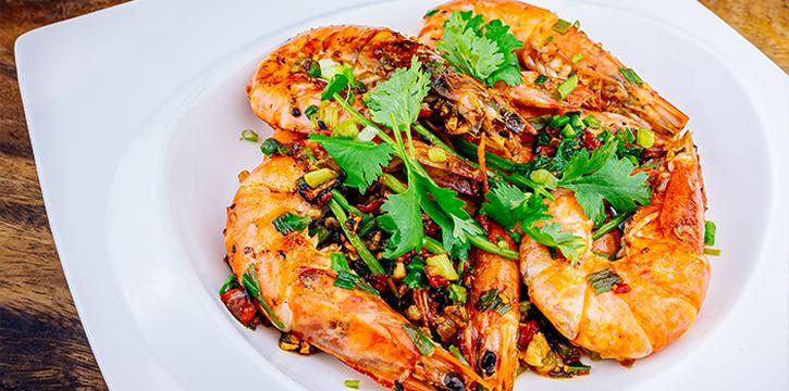 Spice Salt Prawn from Tang Chao @ One Bowl at The Sultan in Bugis, Singapore
