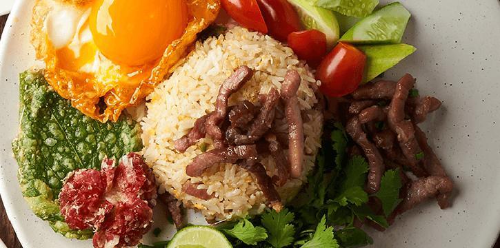 Fried Rice from Spice Market at Anantara Siam in Ratchadamri, Bangkok