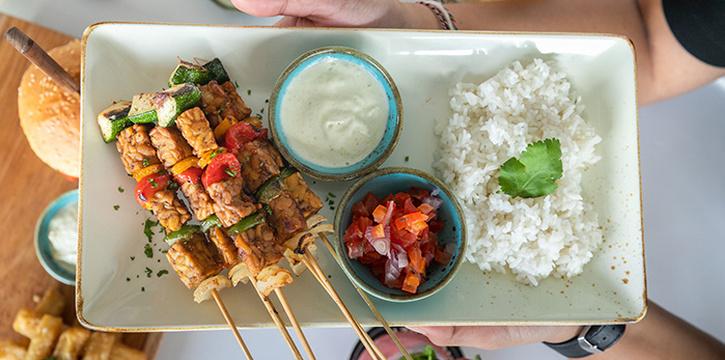 Food from Ocaso, Uluwatu, Bali