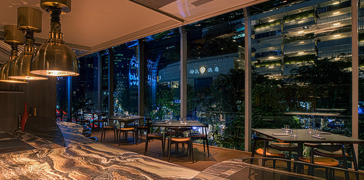 Interior of V-Dining by V-Zug at Scotts Square in Orchard, Singapore