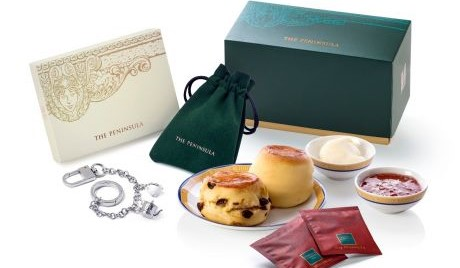 Classic Afternoon Tea, Scone and Charm Set at The Peninsula Boutique