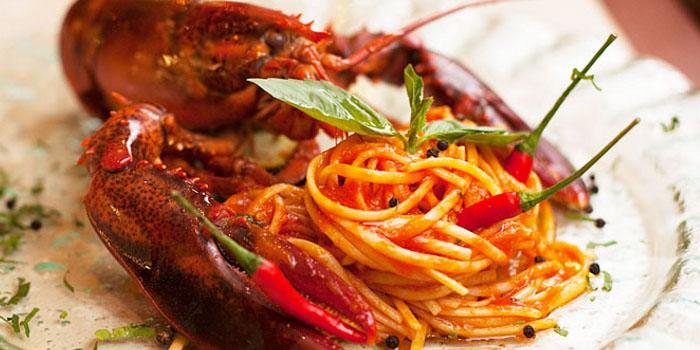 Lobster pasta at La Braceria in Bukit Timah Singapore