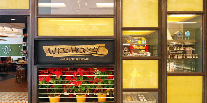 Interior of Wild Honey in Scotts Square in Orchard, Singapore
